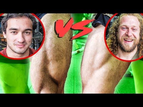 WHO BUILDS BETTER LEGS? WEIGHTLIFTER VS BODYBUILDER