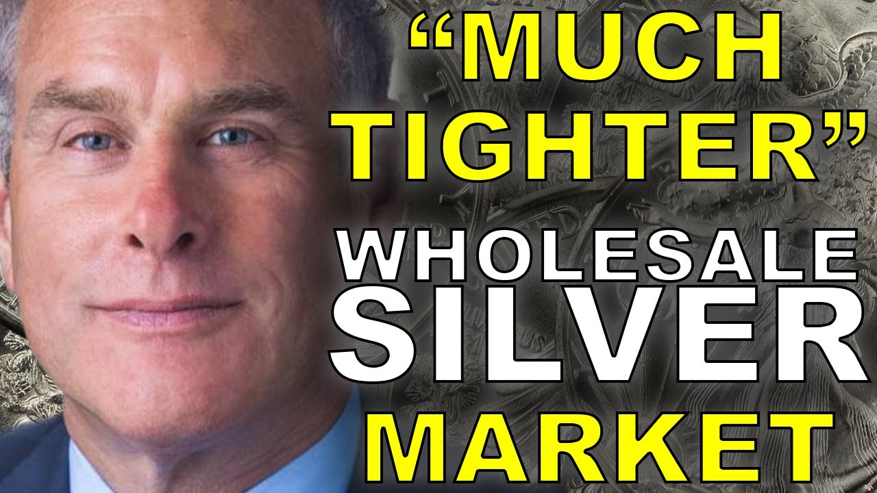 """""""Much Tighter"""" Silver Market This Week   Rick Rule"""
