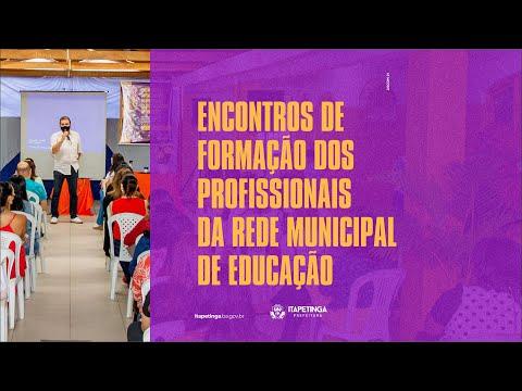 Começou nesta segunda-feira, 16, a série de encontros de acolhida aos profissionais da educação.