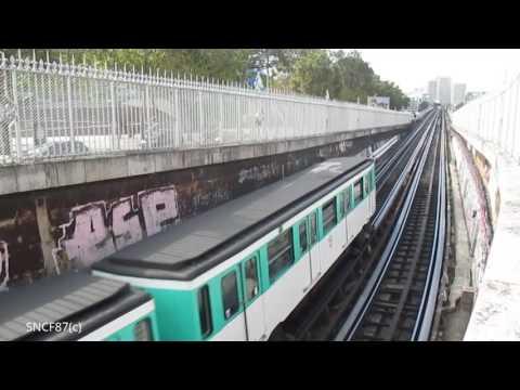 RATP Paris Métros Ligne 1 à 14   Sep/Oct 2016