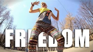 Freedom dance, with Zap