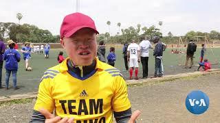 Kenya's First Albino Football Team Scores a Win