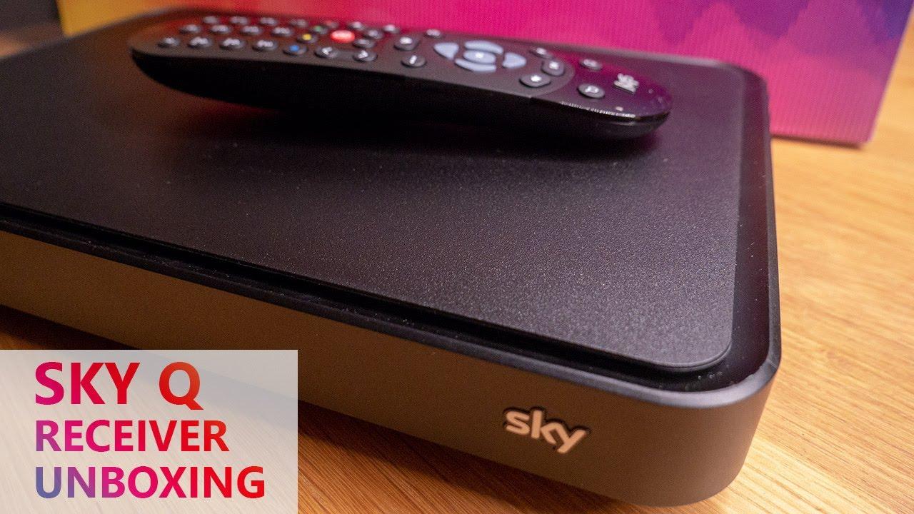 Sky Q 4k Receiver Unboxing Das Neue Sky 2019 Youtube
