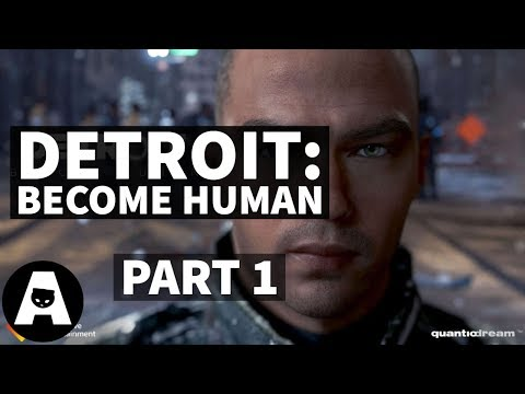 LIRIK plays DETROIT: Become Human | Playthrough - Part 1