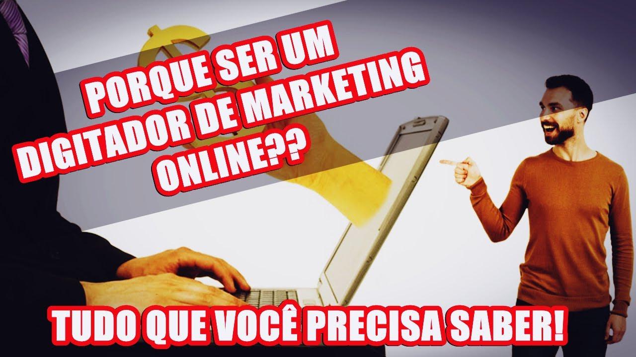 curso de digitador de marketing online