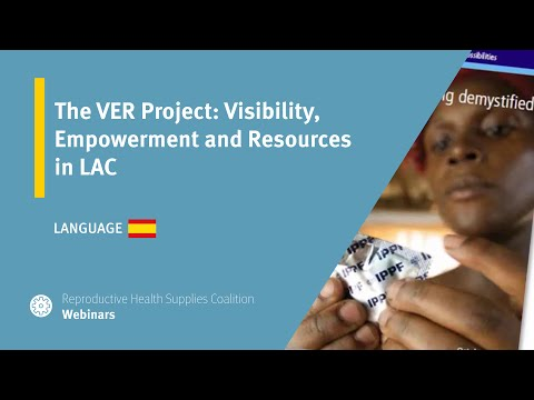 The VER Project: Visibility, Empowerment and Resources in LAC