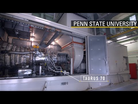 Developing the Next Generation of Turbine Technology with Penn State University