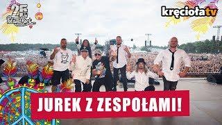 Jurek z zespołami! #polandrock2019