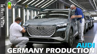 Audi Q4 e-tron Production in Germany