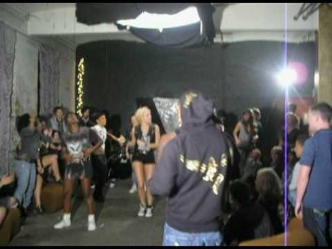 Behind the scenes with Pixie Lott on Boys and Girls shoot!