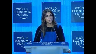 Queen Rania on The Employment Challenge