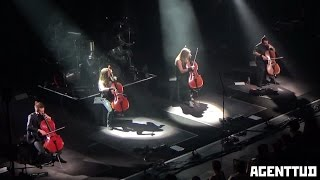 Apocalyptica live in Brussels, Belgium // full concert // 24.02.2017