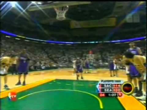 NBA PLAYOFFS 2005. Sonics Blast Into Round 2. Spanish ( Montes y Daimiel)