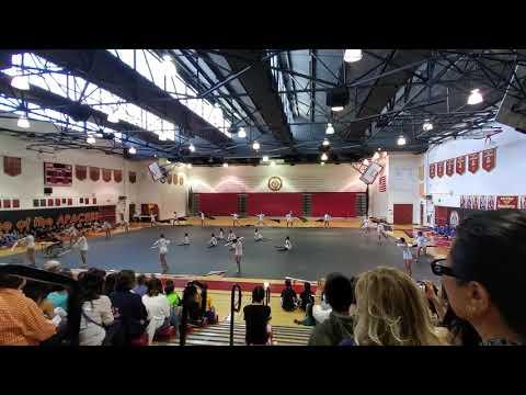 First Avenue Middle School Winterguard 2019 performance