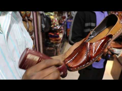 Jaipur shoes (Mojari or Jooti) Coloring | Traditional Rajasthan Footwear | Sbrothers Technology