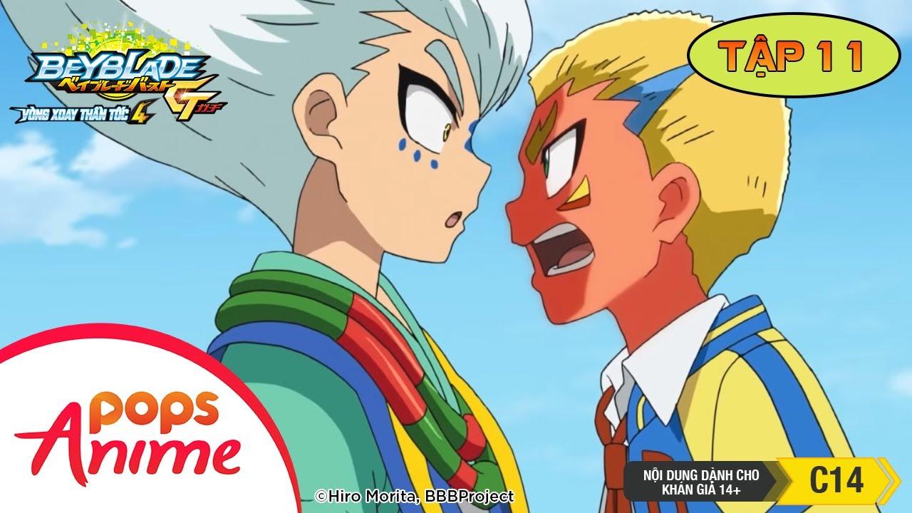 [S4] Vòng Xoay Thần Tốc - Tập 11 - Trận Chiến Trên Không - Phim Anime Beyblade Burst