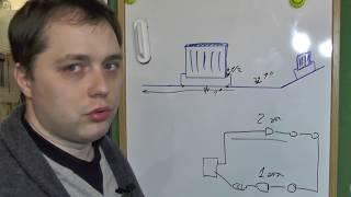 система отопления однотрубная, двухтрубная, лучевая