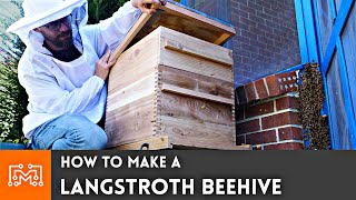 How to make a Langstroth Beehive // Woodworking