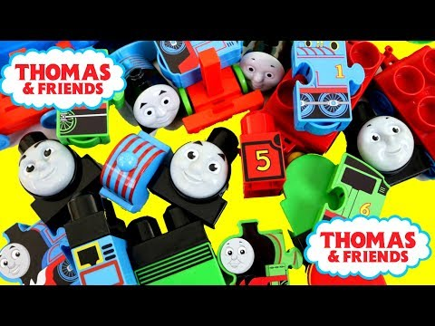 Thumbnail: Baby Learn Colors, THOMAS & FRIENDS Lego Bloks Baby Toy Train, Kids Preschool Stack Engine きかんしゃトーマス