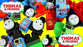 Baby Learn Colors, THOMAS & FRIENDS Lego Bloks Baby Toy Train, Kids Preschool Stack Engine きかんしゃトーマス