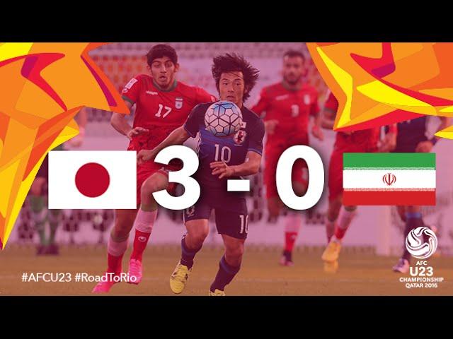 Video: U23 Nhật Bản vs U23 Iran
