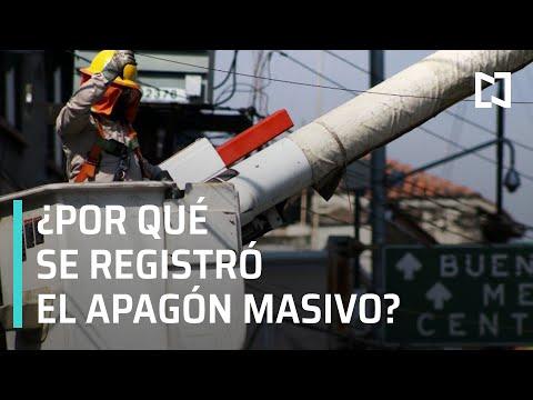 Apagón masivo en México, ¿qué lo provocó? - A Las Tres