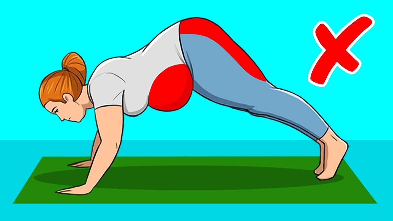 6 esercizi efficaci per donne che fanno perdere peso