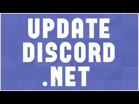 Making your OWN C# Discord Bot #4 1: Discord Net 1 0