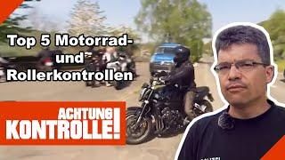 Top 5 Motorrad- uฑd Rollerkontrollen: Einsicht? Fehlanzeige! | Kabel Eins | Achtung Kontrolle