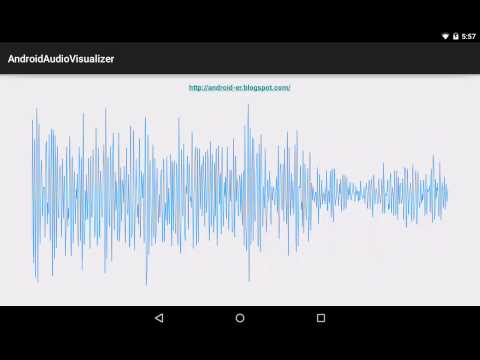 Android-er: Create audio Visualizer for MediaPlayer