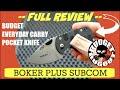 Boker Plus Subcom | Best Compact Budget Everyday Carry / EDC Pocket Knife?
