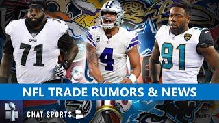 NFL Trade Rumors On Yannick Ngakoue + Latest Rumors On Logan Ryan, Jason Peters & Dak Prescott
