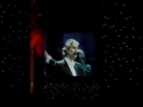 Andrea Bocelli TODAY MOSCOW RUSSIA