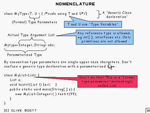 Java Tutorial 24.11: Generic types and Wildcard types