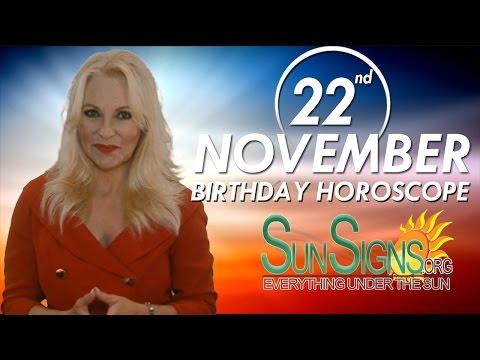 Birthday November 22nd Horoscope Personality Zodiac Sign Scorpio Astrology