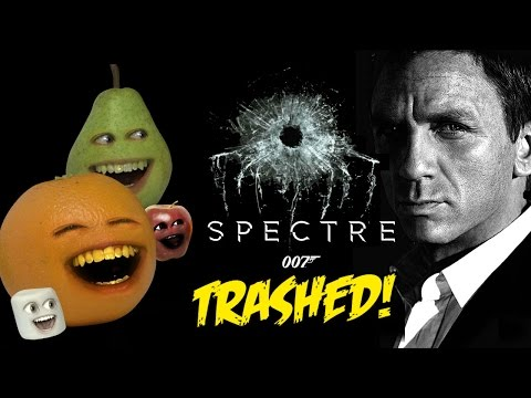 Annoying Orange - 007 Spectre TRAILER TRASHED!