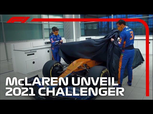 Lando Norris and Daniel Ricciardo Unveil the 2021 McLaren MCL35M!