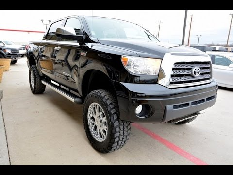 2008 Toyota Tundra Limited CrewMax IForce Lifted Truck