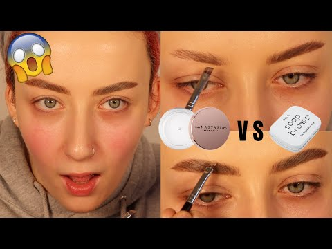 Testing NEW ABH Brow Freeze Wax VS Soap Brows! | Alice King
