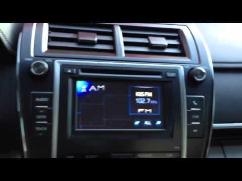2012 TOYOTA CAMRY XLE FACTORY APP RADIO Pandora Bluetooth iheart