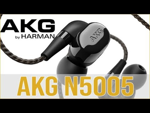 AKG N5005 In-Ear Headphones - Hands on