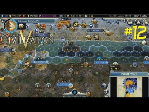 The Battle Of Budapest!!! - Civilization V - Ep. 12