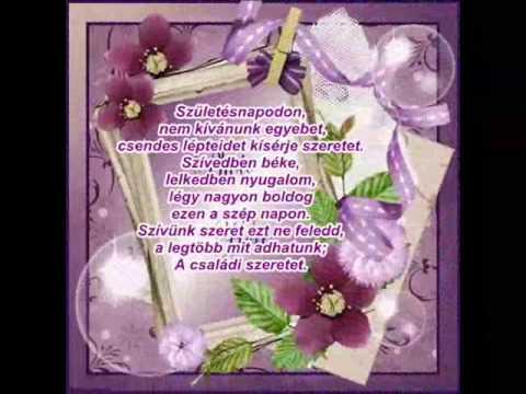 boldog születésnapot lányomnak Boldog születés napot Lányomnak Aranyics Timeának 2014 02 23   YouTube boldog születésnapot lányomnak