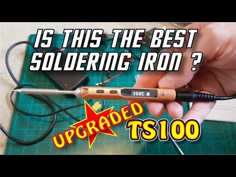 MINI UpGrade TS100 Digital OLED Soldering Iron Station from
