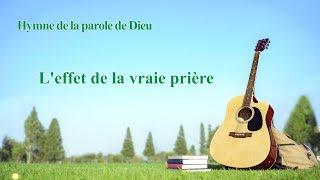 Chanson chrétienne en français « L'effet de la vraie prière »