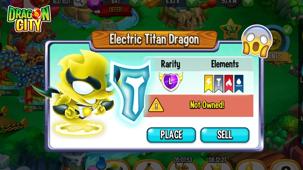 I Get another new one Electric Titan Dragon in Dragon City 2021 😍