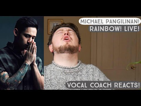 Vocal Coach Reacts! Michael Pangilinan! Rainbow (South Border)! Live!