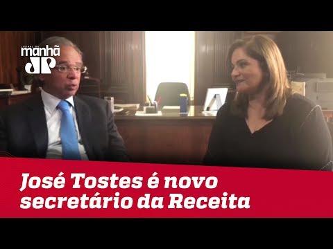 Guedes escolhe José Tostes como novo secretário da Receita
