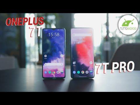 OnePlus 7T vs OnePlus 7T Pro: COSA CAMBIA? CONFRONTO   ITA   TuttoAndroid