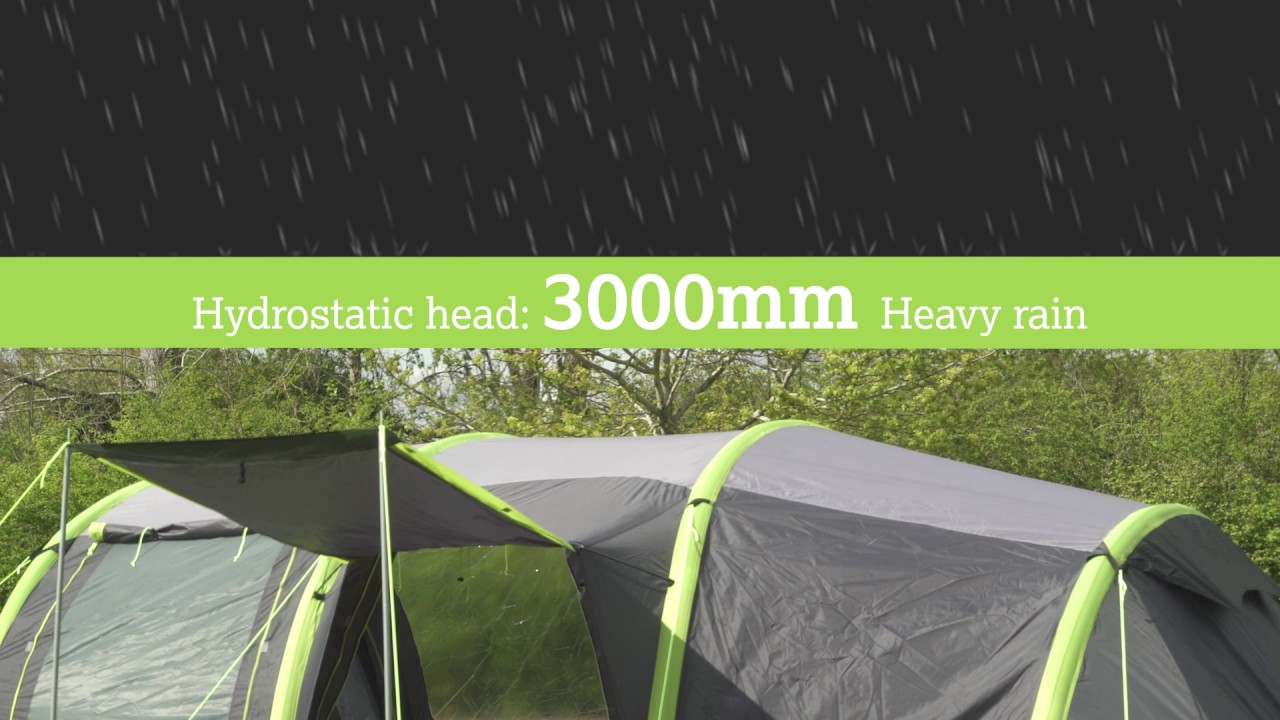 Urban Escape 6 Person Air Tent & Urban Escape 6 Person Air Tent - YouTube